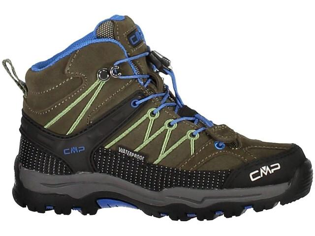 CMP Campagnolo Junior Rigel Mid WP Trekking Shoes Avocado